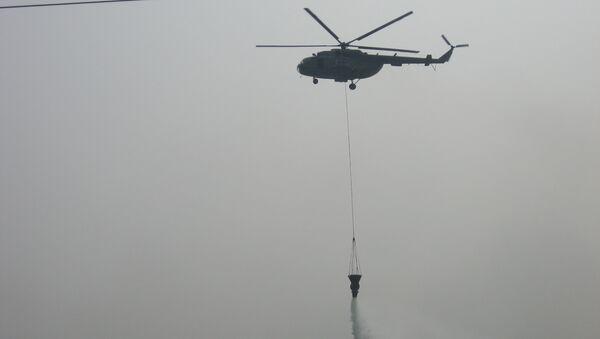 Пожарный вертолет. Архивное фото