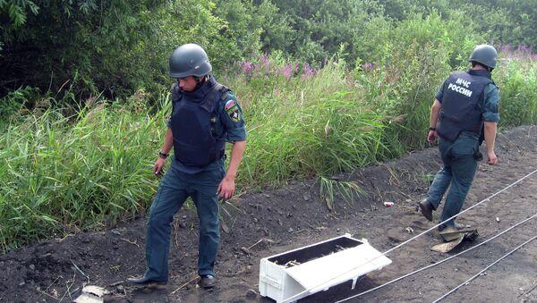 Сотни снарядов нашли на месте взрывов в эшелоне под Новосибирском