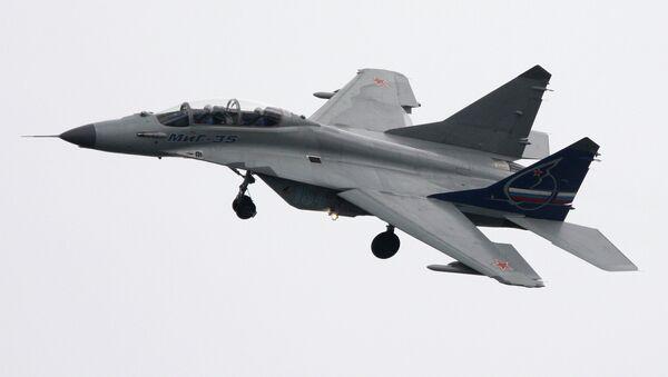 Многоцелевой истребитель МиГ-35. Архивное фото