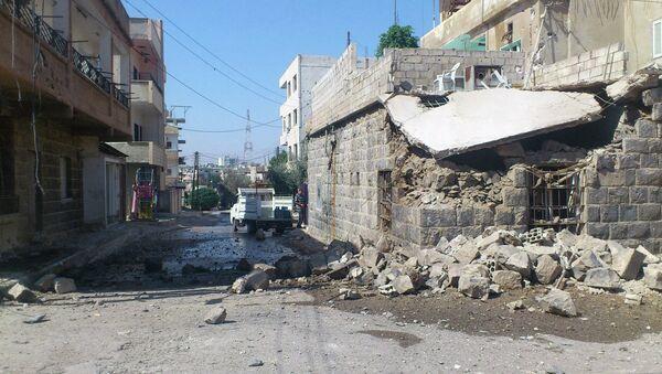 Разрушения в сирийской провинции Идлиб