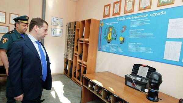 Рабочая поездка Д.Медведева в СФО.Томск