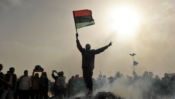 Протесты в Ливии. Архив