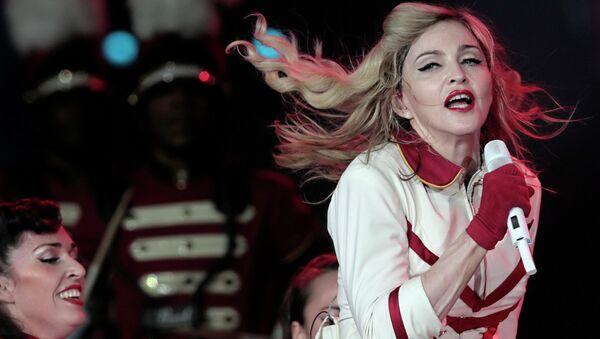 Концерт Мадонны в Петербурге