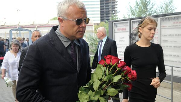 Прощание с режиссером Петром Фоменко