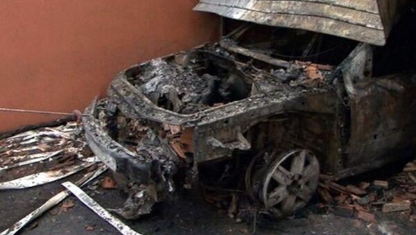 Сожженные машины и здания оставили после себя французские погромщики