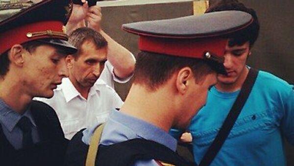 Акция у ХХС в Москве