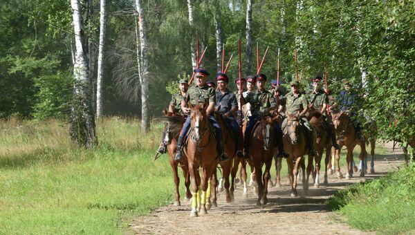 Подготовка к конному походу Москва-Париж по маршруту движения в 1812-1814 годов казачьих частей Москва – Париж