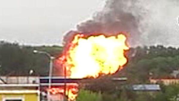 Газовые баллоны взорвались на АЗС в Екатеринбурге