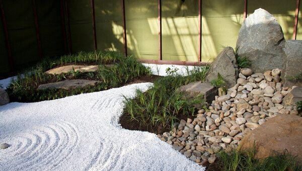 Японский сад в Иркутске