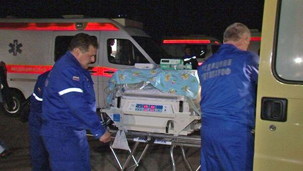 Работа скорой помощи