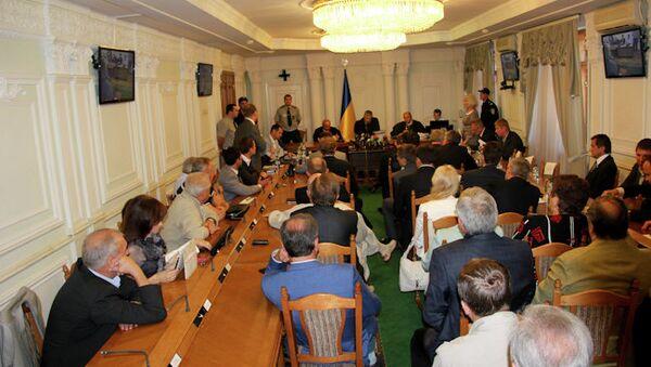 Рассмотрение кассационной жалобы на приговор Юлии Тимошенко по газовому делу в Высшем специализированном суде Украины