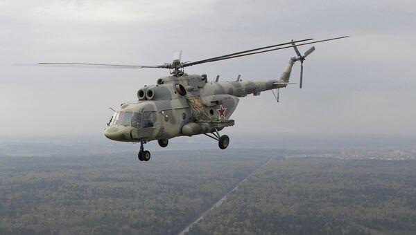 Вертолет Ми-17. Архивное фото