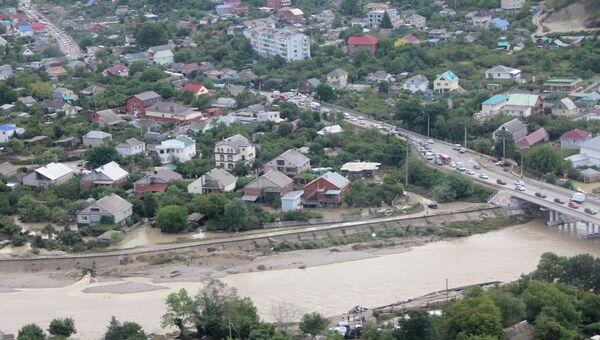 Подтопление в Новомихайловском сельском поселении под Туапсе