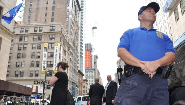 Улица, где произошла перестрелка в Нью-йорке, оцеплена