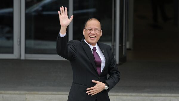 Президент Республики Филиппины Бенигно Акино III. Архивное фото