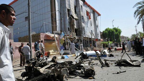 Взырв в Насирии, Ирак. 9 сентября