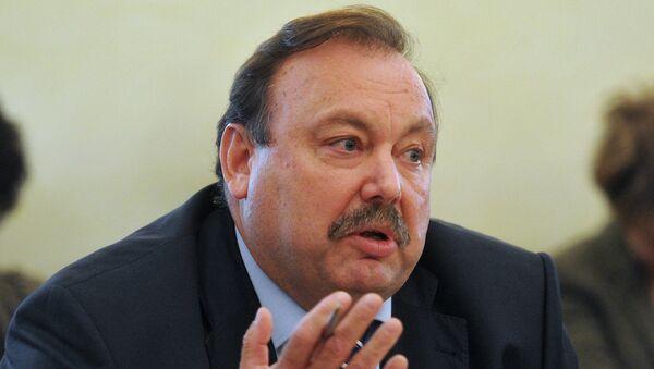 Геннадий Гудков на заседании Думской комиссии