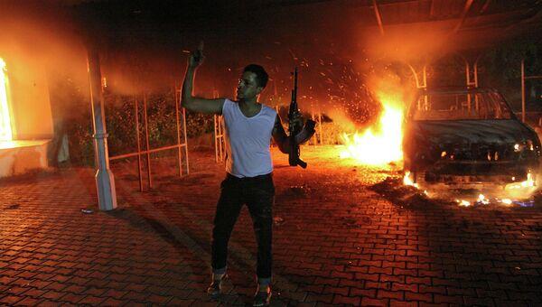 Дипломат из США скончался в Бенгази после нападения на консульство