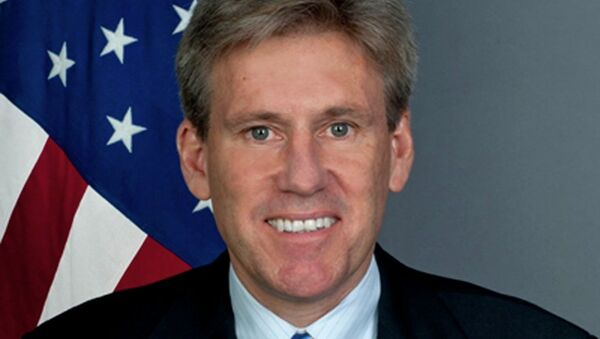 Посол США в Ливии Кристофер Стивенс