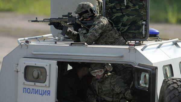 Международные оперативно-тактические учения Гром-2012