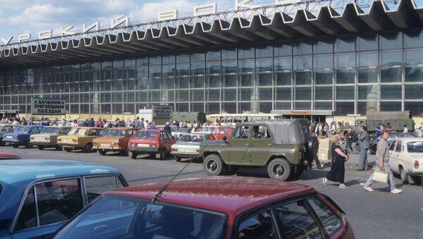 Курский вокзал. Архивное фото