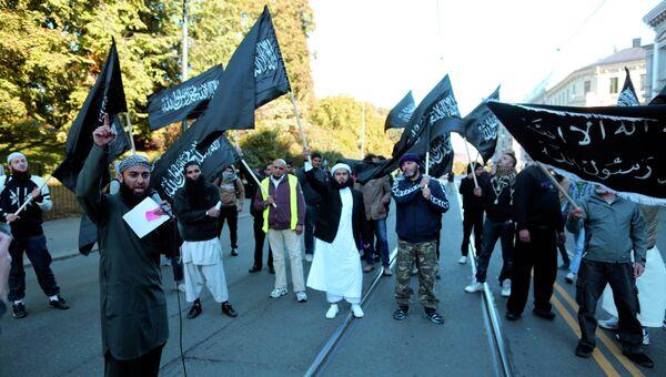 Происламская акция в Осло