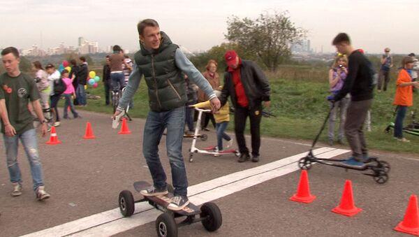 Сегвей и якибайк: тест-драйв альтернативного транспорта в День без авто