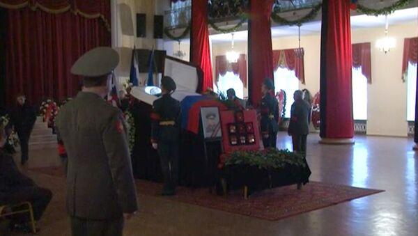 Церемония прощания с экс-министром обороны России Павлом Грачевым