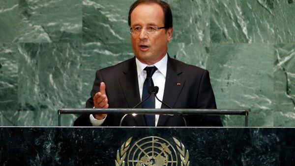 Выступление Франсуа Олланда на 67-й сесии Генеральной ассамблеи ООН