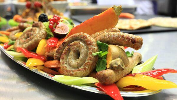 Международная выставка индустрии питания в Москве