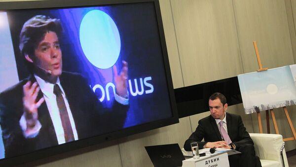 Глава телеканала Euronews Майкл Питерс
