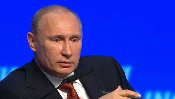 Путин прокомментировал отсутствие Кудрина на форуме Россия зовет