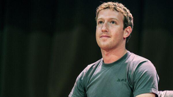 Марк Цукерберг. Архивное фото.