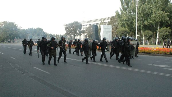Митинг за национализацию месторождения Кумтор в Бишкеке