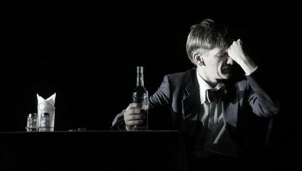 Спектакль Москва - Петушки, Студия театрального искусства, режиссер Сергей Женовач