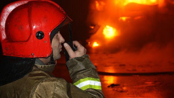 Пожар на заводе по переработке пряностей в Новгородской области
