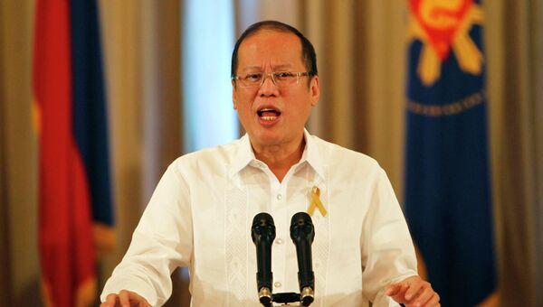 Президент Филиппин Бенигно Акино