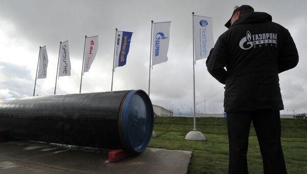 Ветка газопровода Северный поток, архивное фото