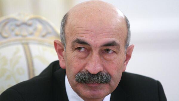 Министр иностранных дел Южной Осетии Мурат Джиоев. Архив