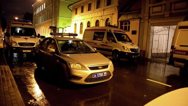 Погром и драка в ночном клубе в центре Москвы