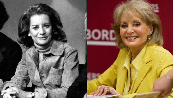 Американская телеведущая Барбара Уолтерс (1973 / 2008)