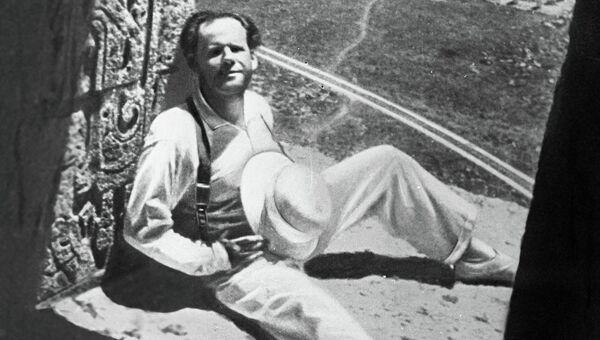 Сергей Эйзенштейн в Мексике, 1931 год