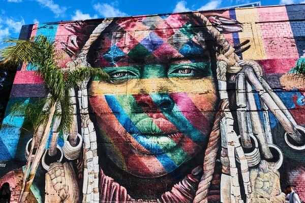 Граффити в Рио-де-Жанейро
