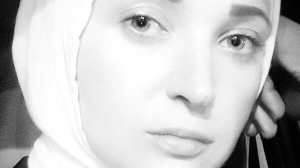 Елена Яссуф, уроженка Одессы, ныне живущая в Идлибе