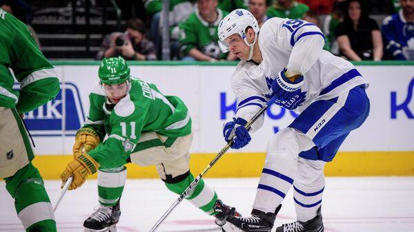 Матч НХЛ между Даллас Старз и Торонто Мейпл Лифс