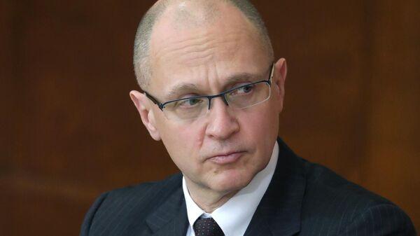 Первый заместитель руководителя администрации президента РФ Сергей Кириенко на заседании Совета по развитию местного самоуправления