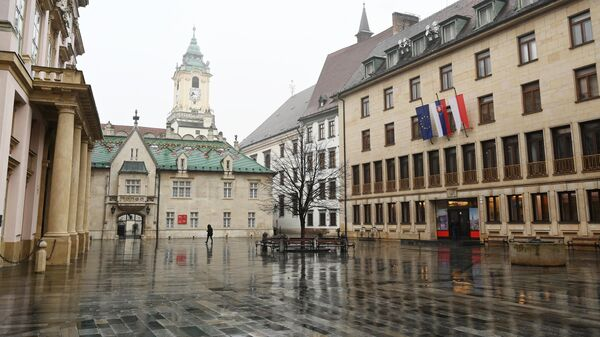 Главная площадь в Братиславе