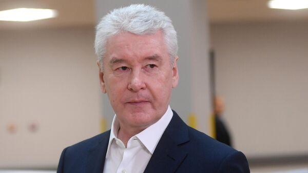 Мэр Москвы С. Собянин посетил детскую поликлинику