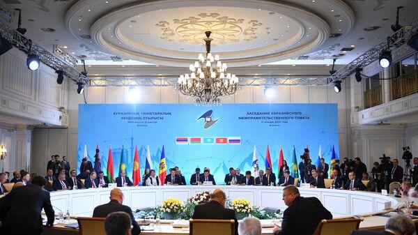 Рабочий визит премьер-министра РФ М. Мишустина в Казахстан