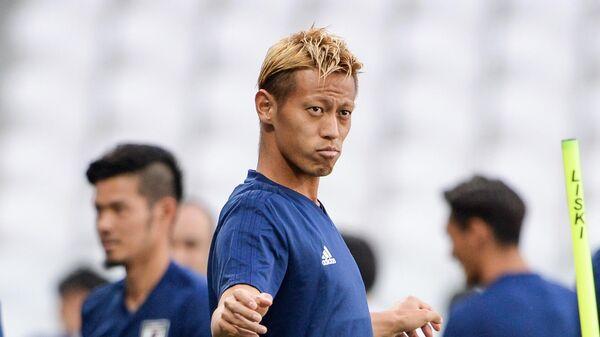 Футболист Кейсуке Хонда